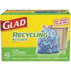 Glad Recycling 13 Gal. Tall Kitchen Blue Trash Bag (45-Count) Image 1