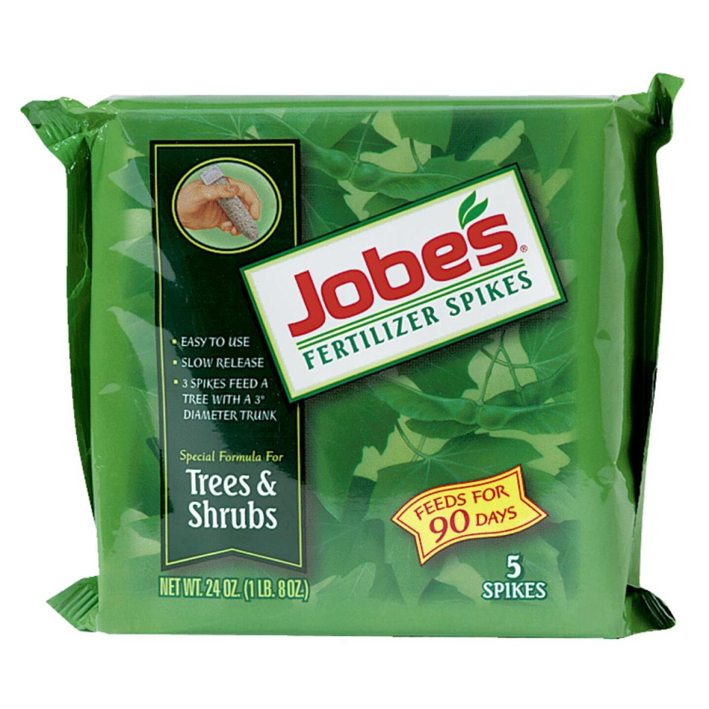 Jobe's 16-4-4 Tree & Shrub Fertilizer Spikes (5-Pack) Image 1