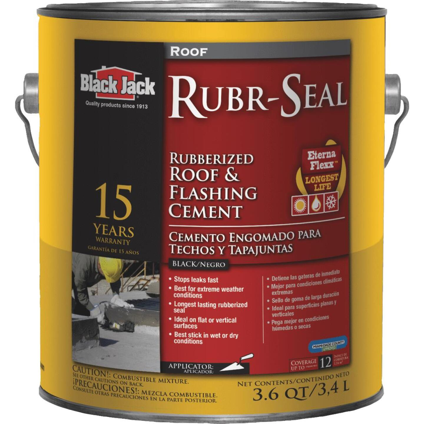 Black Jack Rubr-Seal 1 Gal. 15 Year Roof and Flashing Cement Image 1